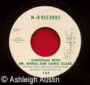 Christmas With Mr. Bingle and Santa Record Label
