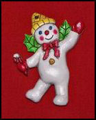 Mr. Bingle Gift Wrap Ornament