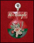 Mr. Bingle Clip-on Pin